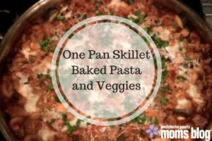 one-pan-skillet-baked-pasta-and-veggies