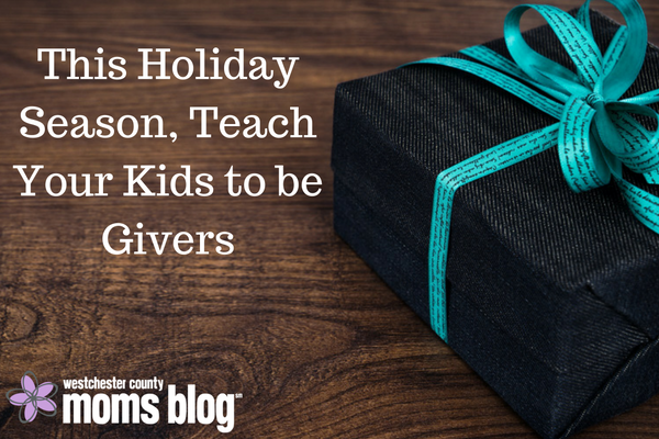 teach your kids to be givers