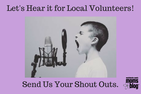 local volunteer shout outs