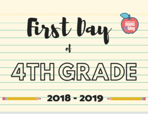 photo relating to First Day of 5th Grade Printable titled 1st Working day of Faculty Indicators :: Absolutely free Printables ::