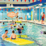 Westchester County Moms Blog Family Swim Event at Goldfish Swim School Yorktown Heights