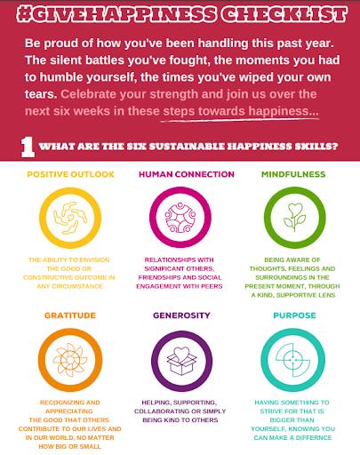 Six Sustainable Happiness Skills